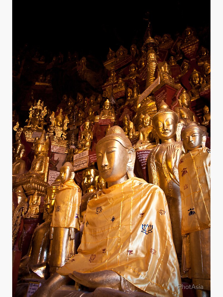 Shwe Oo Min Natural Cave Pagoda by PhotAsia