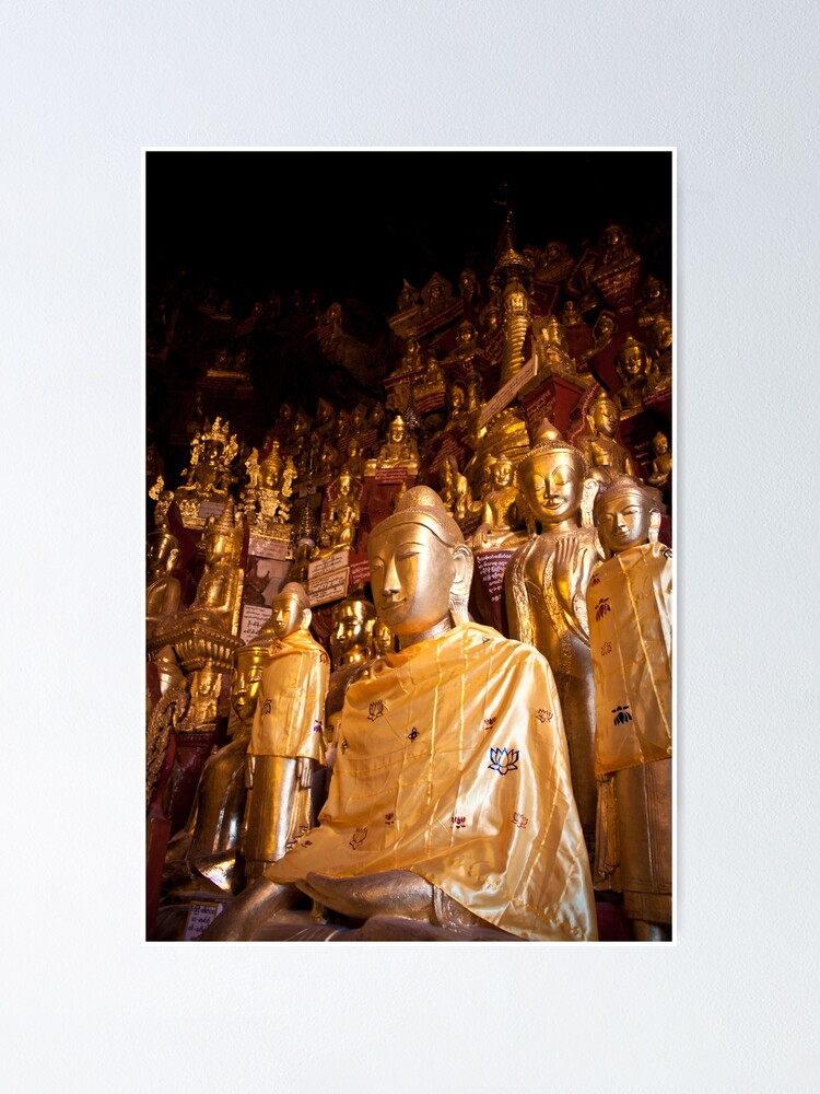 Alternate view of Shwe Oo Min Natural Cave Pagoda Poster