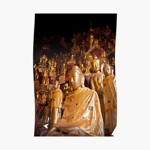 Shwe Oo Min Natural Cave Pagoda Poster