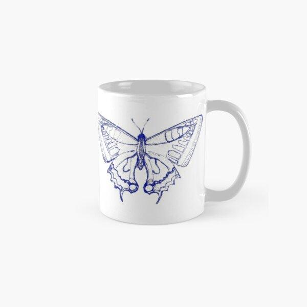 Blauer Schmetterling Tasse (Standard)