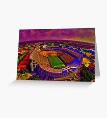 LSU Tigers Death Valley Greeting Card