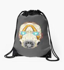 Low-poly Psycho Mask Drawstring Bag