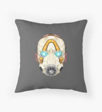 Low-poly Psycho Mask Floor Pillow