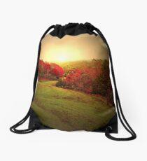 Mount Mitchell Golf Course Drawstring Bag