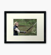 Pirate Princess Emma Swan Framed Print