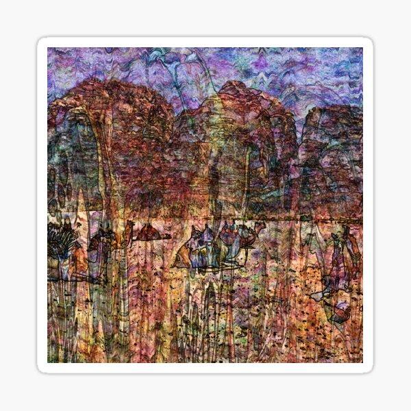 Desert Varnishes - Wadi Rum Sticker