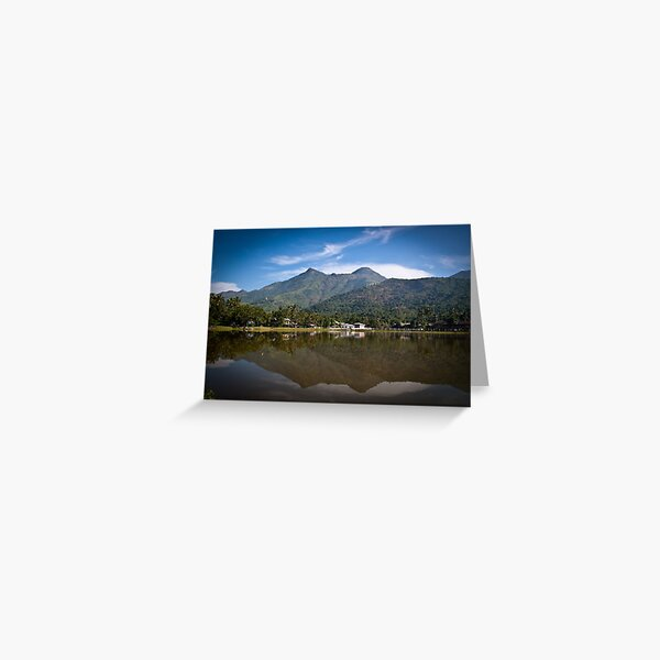 Mon State landscape Greeting Card