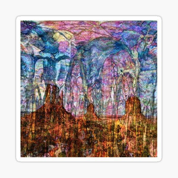 Desert Varnishes - Monument Valley Sticker
