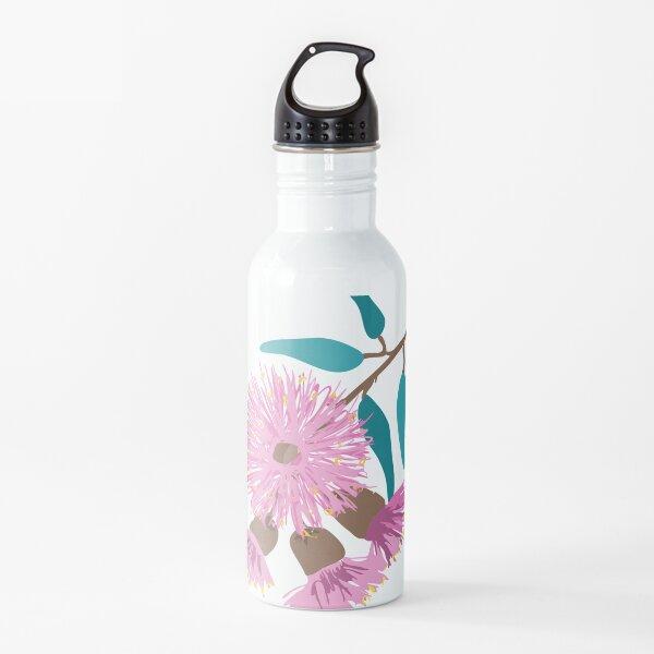 Australian Pink Gum Blossom Water Bottle