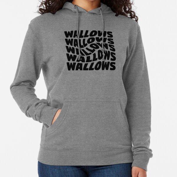 black wallows swirl design Lightweight Hoodie
