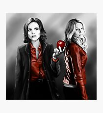 Emma and Regina and Red Photographic Print