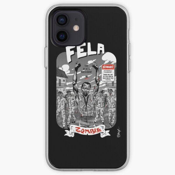 Zombie 'O' Zombie iPhone Soft Case