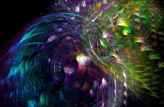 Black Peacocks... by Vanessa Barklay