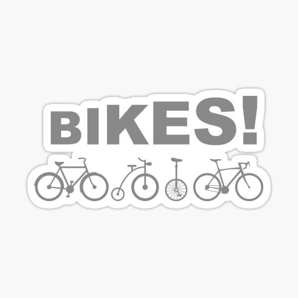Bicicletas Campeones de agua de mamás reales Pegatina
