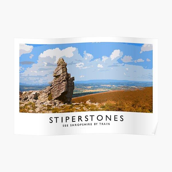 Stiperstones (Railway Poster) Poster