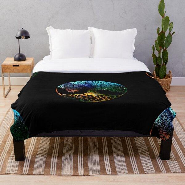 Tree of Life Mandala Throw Blanket