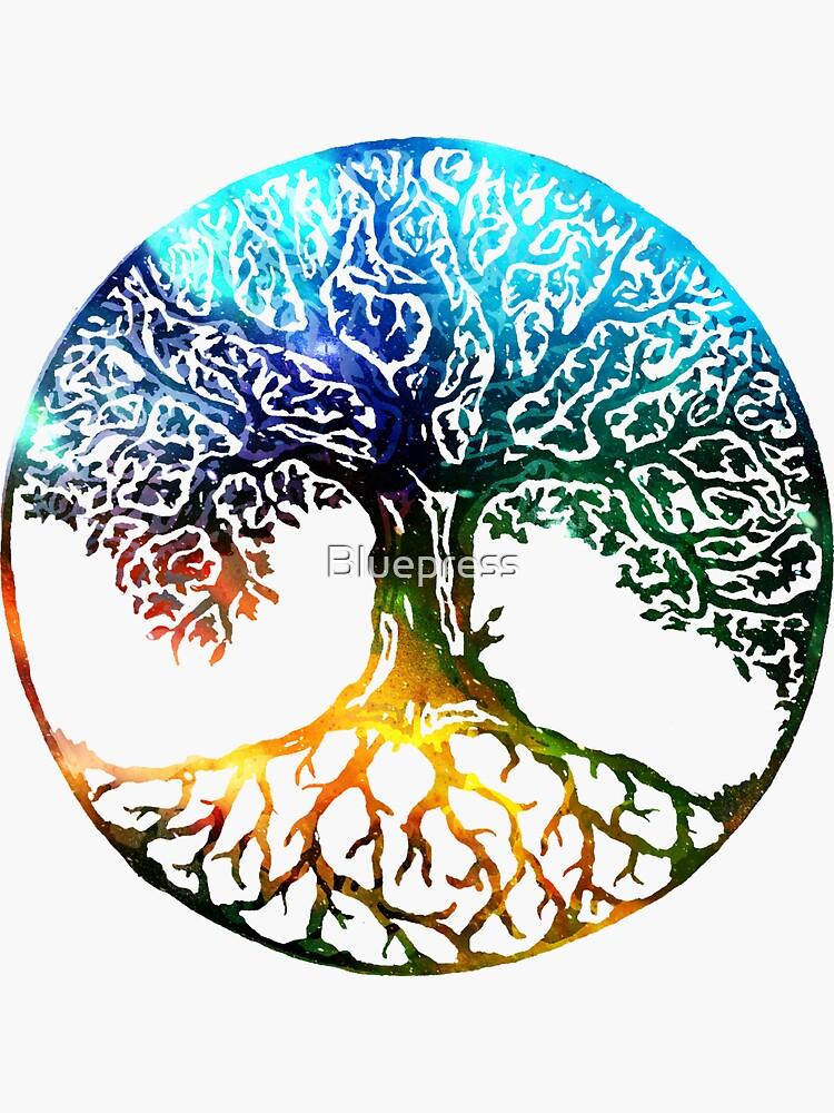 Tree of Life Mandala by Bluepress
