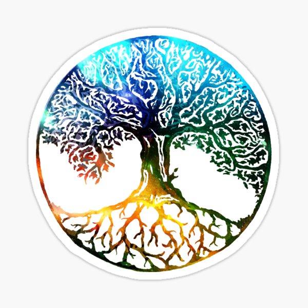 Tree of Life Mandala Sticker