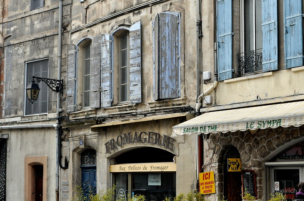 Fromagerie Store Front, Arles by kweirich