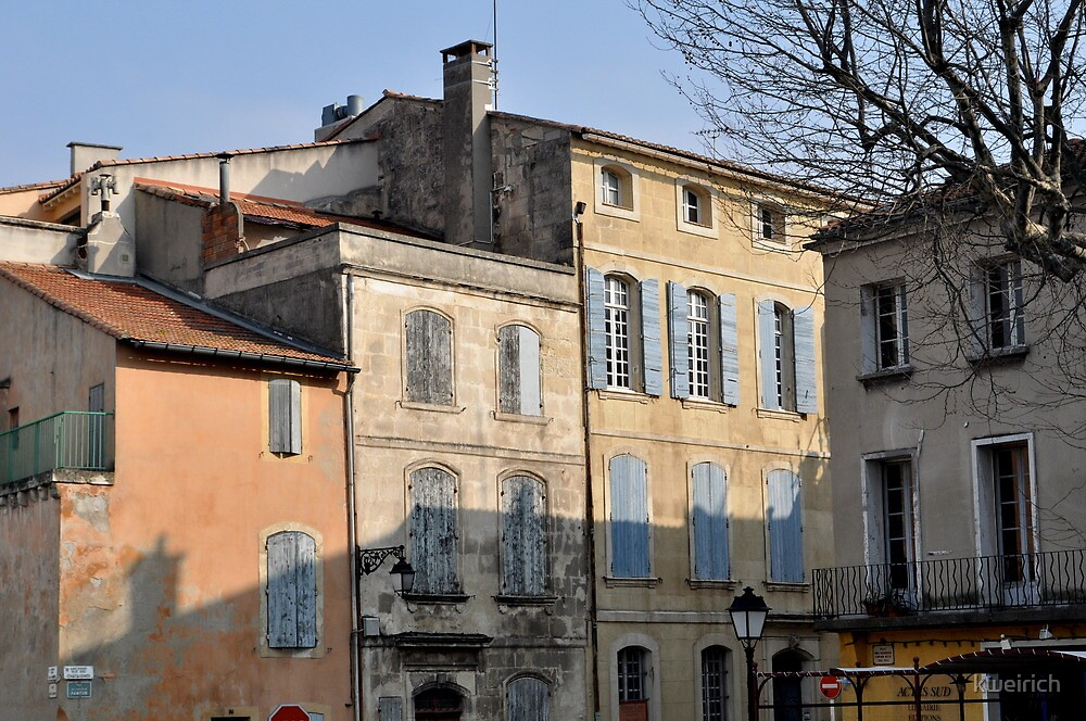 Pastel Light and Shadows in Arles by kweirich