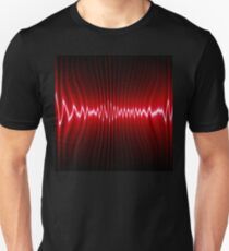 abstract wave energy Unisex T-Shirt