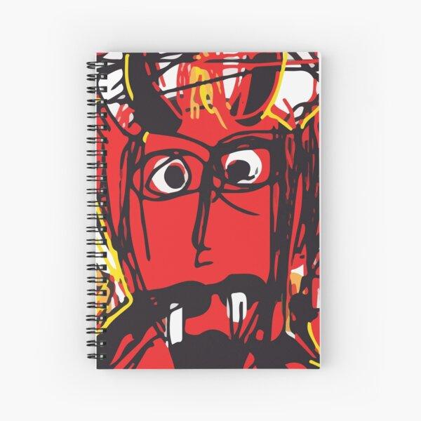 Devil Spiral Notebook
