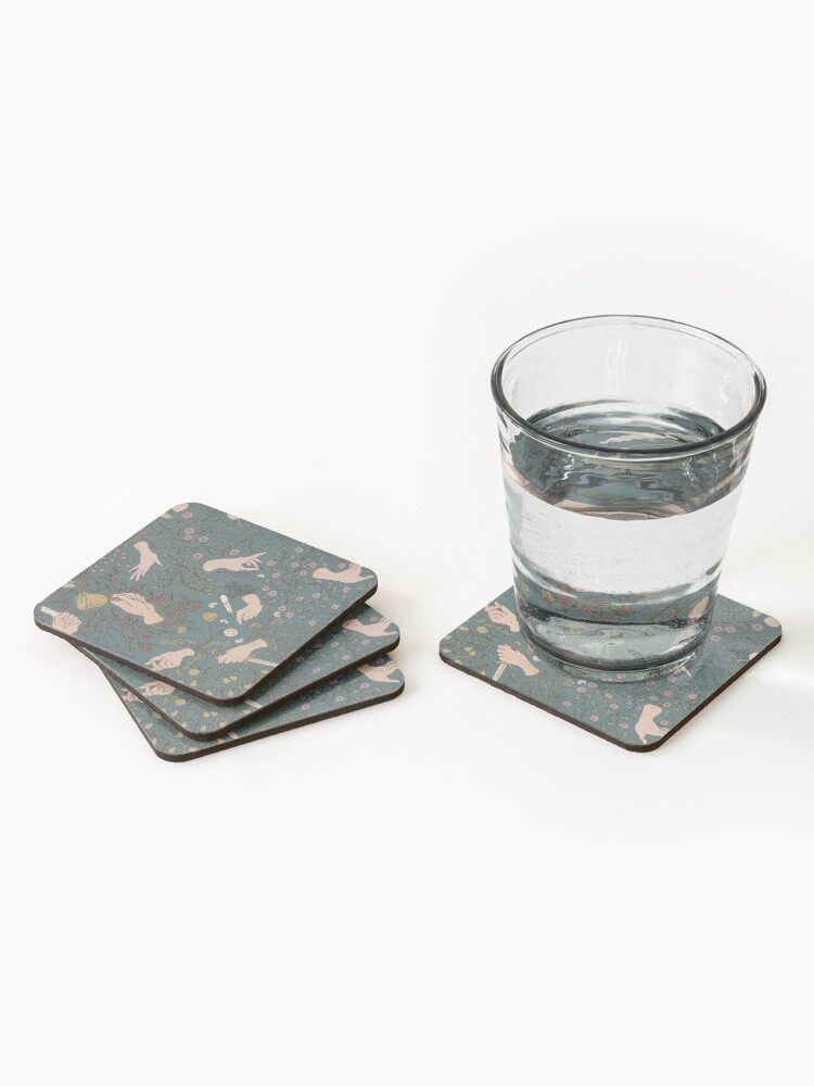 Alternate view of Take my hands Coasters (Set of 4)
