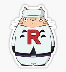 Toto rocket Sticker