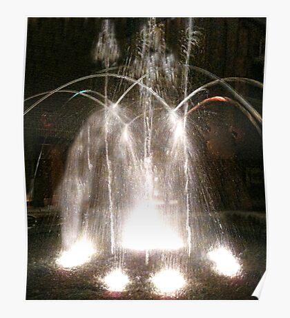 Indoor Fountain Poster