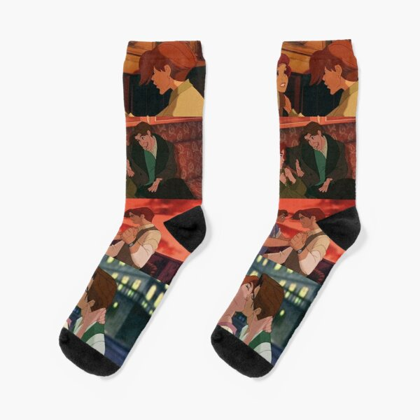 Anastasia Romanov - The lost princess Canvas Socks