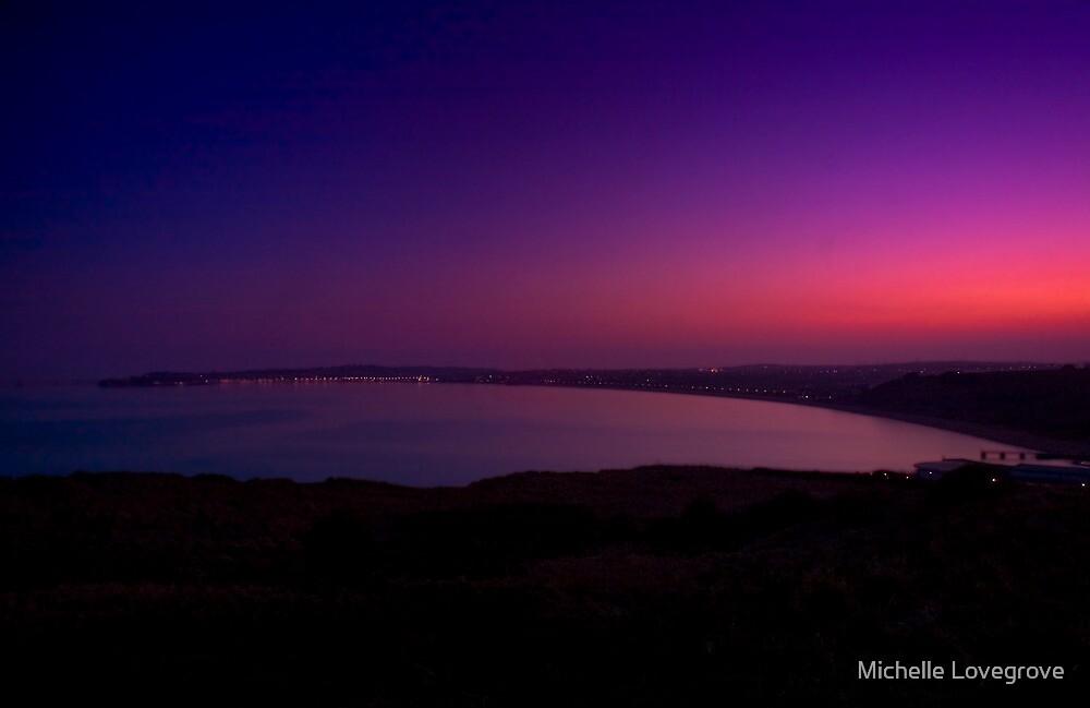 Weymouth Sunset by Michelle Lovegrove