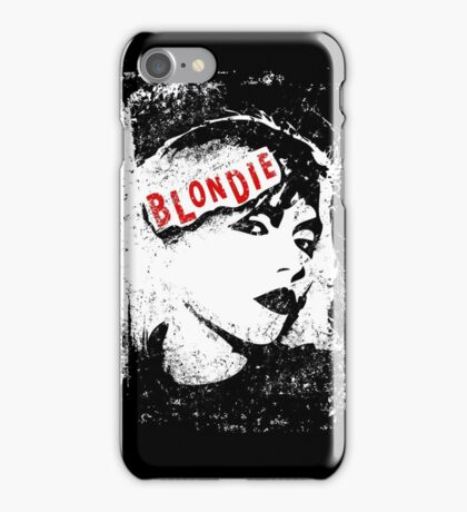 Blondie 70s/80s Band iPhone Case