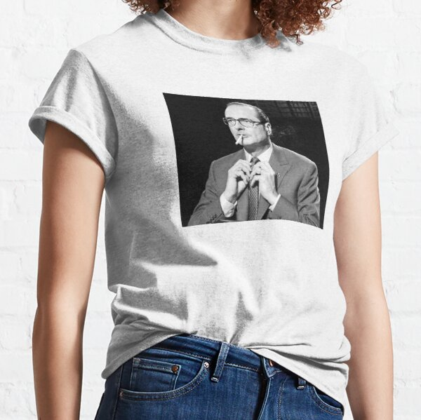Jacques Chirac cigarette Thug T-shirt classique