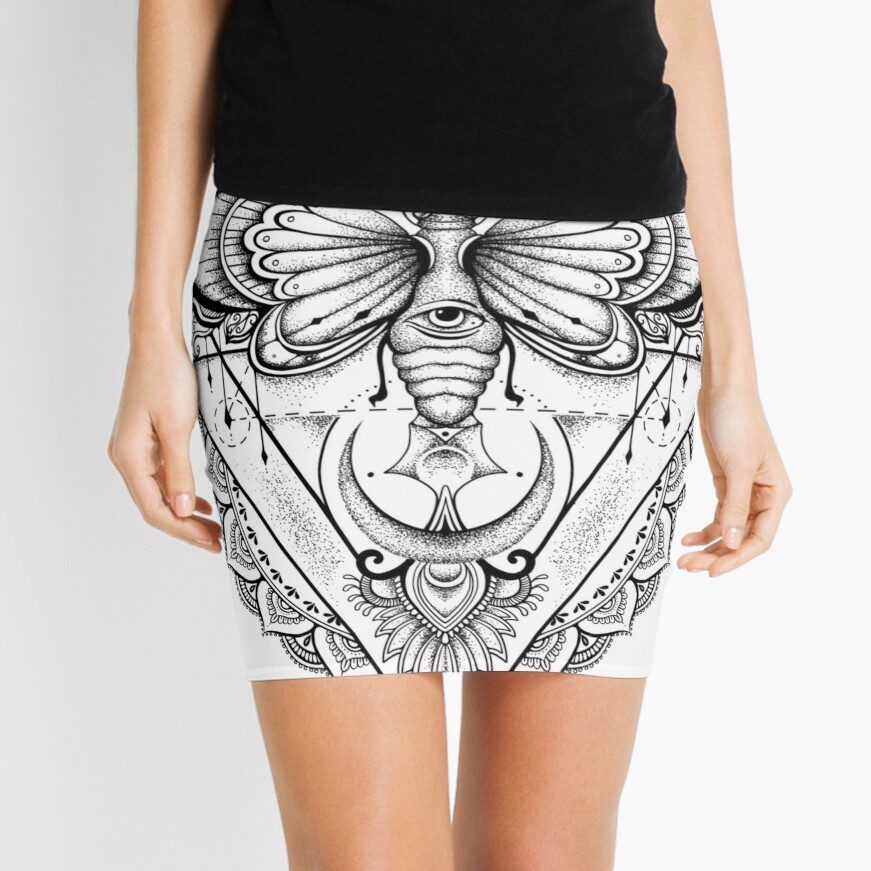 Fly With Me ! Mini Skirt