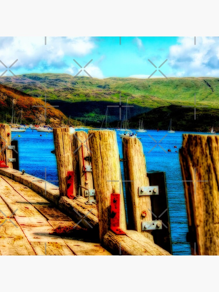 Tighnabruaich Pier by Focal-Art