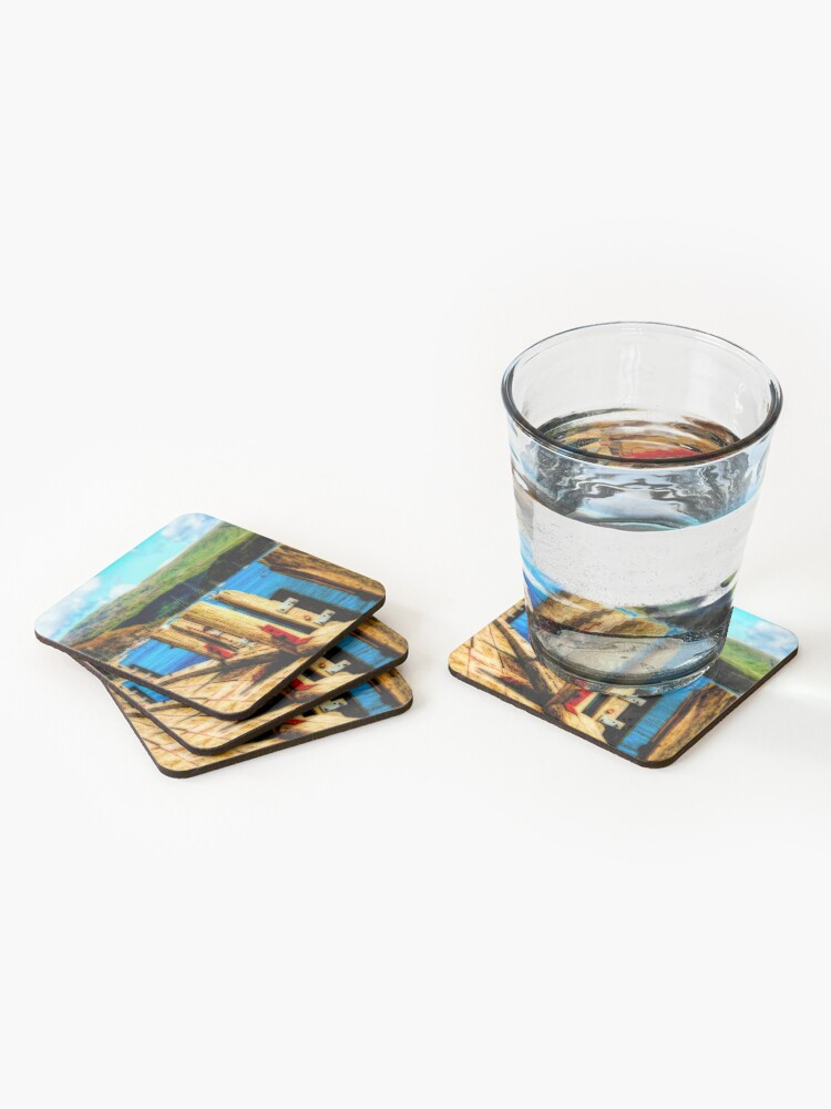 Alternate view of Tighnabruaich Pier Coasters (Set of 4)