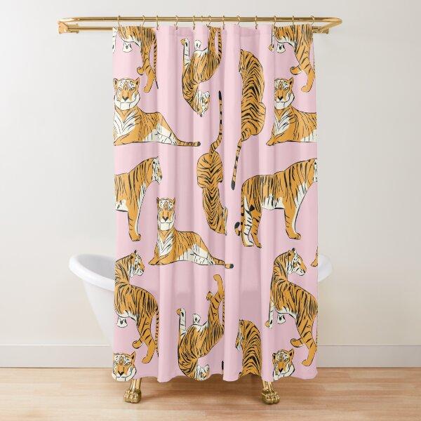 Tiger Pattern 001 Shower Curtain