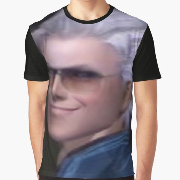 Vergil From the Devil May Cry Series Graphic T-Shirt