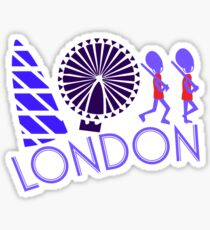 London Tour Sticker