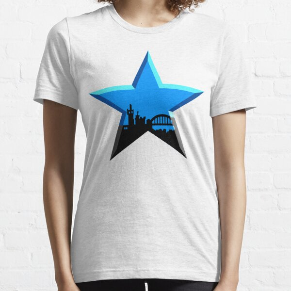 Geordie Star Essential T-Shirt