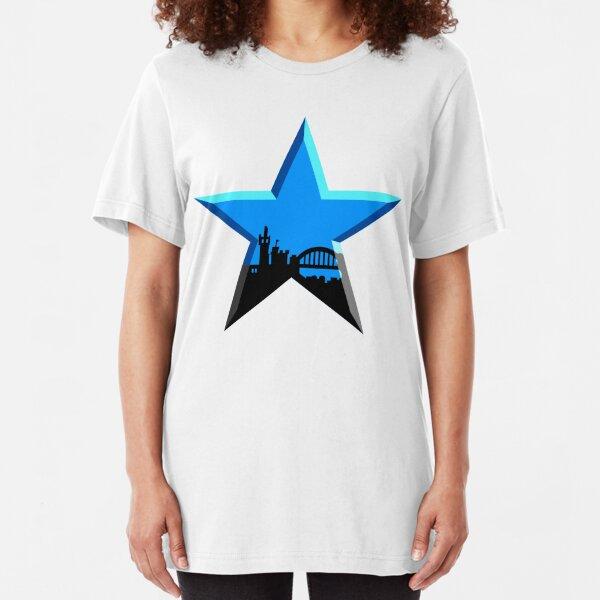 Geordie Star Slim Fit T-Shirt
