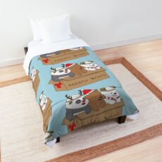We Bare Bears Xmas Comforter
