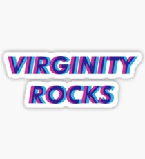 Virginity Rocks Sticker
