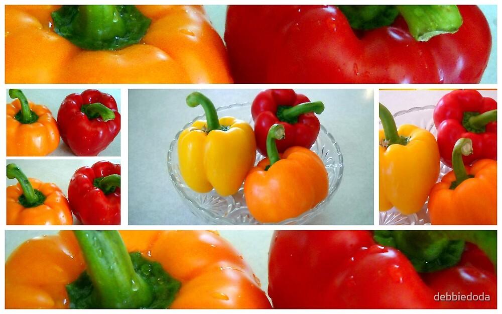 Peppers, Peppers, Peppers by debbiedoda