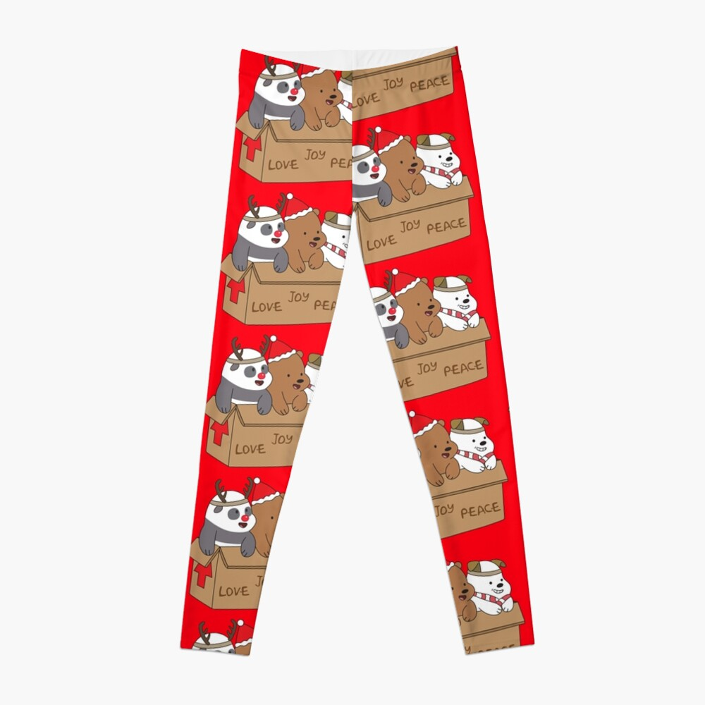 We Bare Bears Love Leggings