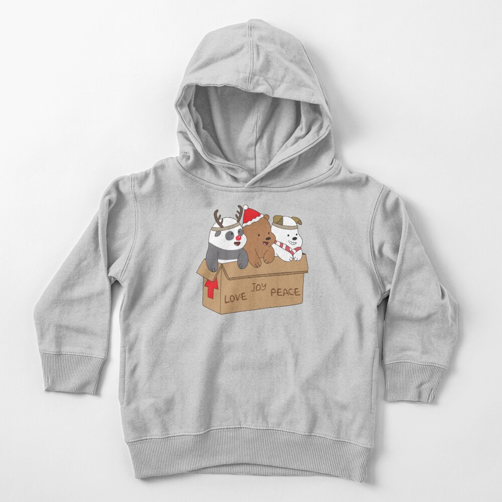 We Bare Bears Love Toddler Pullover Hoodie