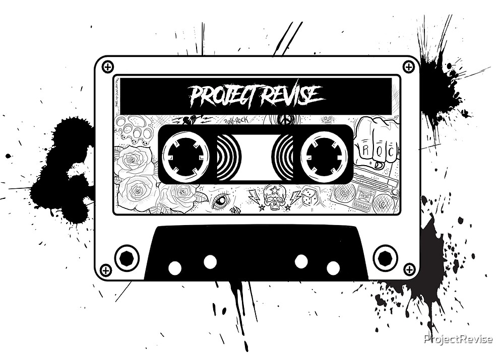 PROJECT REVISE Cassette Tape Design by ProjectRevise