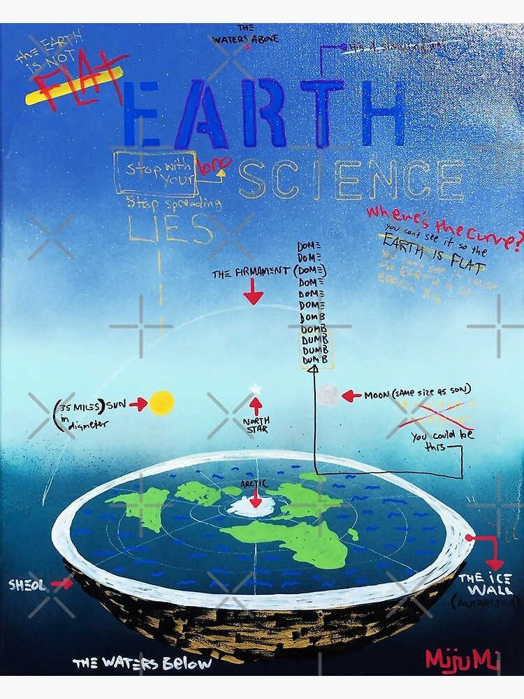Flat Earth Bro Science by mijumi