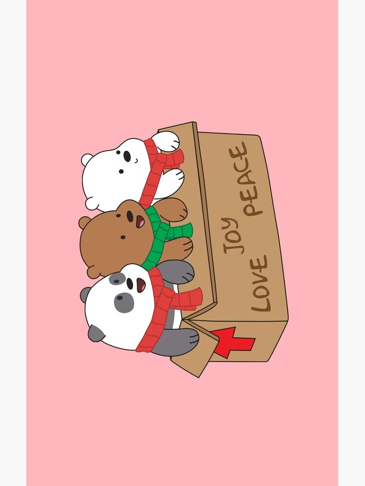 We Bare Bears Love by plushism