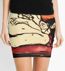 the sun is a lonely lover Mini Skirt